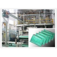 China Full automatic PP Non Woven Fabric Making Machine 0 - 300m/min High Speed on sale