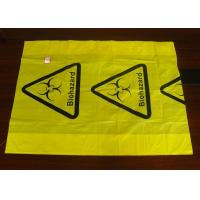 Buy cheap Polyethylene Plastic Heat  Sealing Biohazard Bags meet FDA and EU standard from wholesalers