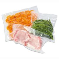 China High Temperature Transparent Vacuum For Food Packaging Nylon Retort Pouch Bag on sale