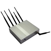 Cheap Professional Indoor DCS1800MHz / PCS1900MHz Mobile Phone Frequency Jammer DZ-101B-8 for sale