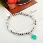 Cheap 925 sterling silver bead chain enamel love bracelet wholesale for sale