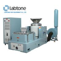 Cheap Air Cooled 20KN Force Vibration Test Equipment With Horizontal Slip Table 100x100cm for sale