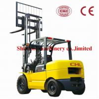 Cheap 4.0T Gasoline Forklift , LPG Single / Dual Fuel Forklift With 500mm Load Centre for sale