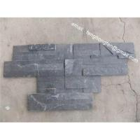 Cheap natural slate ledge stone-charcoal/black for sale