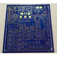 Cheap 1.6mm 1OZ Copper Thickness Multilayer PCB Board 8 Layers FR-4 Blue Soldmask for sale
