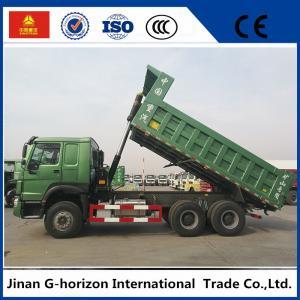 China Left Hand Drive 20cbm 10 Wheelers 371hp Dump Truck , Tipper Truck on sale