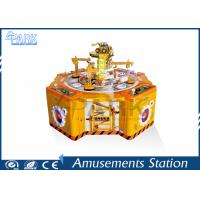 Cheap Four Players Audit Memory Amusement Game Machines , Kids Arcade Candy Claw Machine for sale