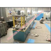 Cheap Corrugated C Shape Stud and U Shaped Track Panel Roll Forming Machinery with 3 Tons Decoiler for sale