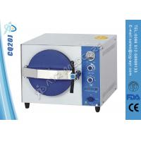 Cheap Stainless Steel Table Top Autoclave Steam Sterilizer With Double Lock Door for sale