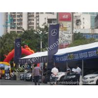 China Small Width PVC Fabric Outdoor Car Exhibition Tent Preventing from Ultraviolet on sale