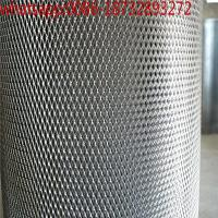 China diamond steel mesh sheet/ expanded metal railing/9 gauge expanded metal thickness/ steel diamond grate/metal mesh roll on sale