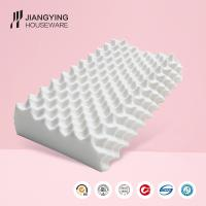 High elastic OEM different size custom men's latex pillow thailand 100% natural material foam pillow