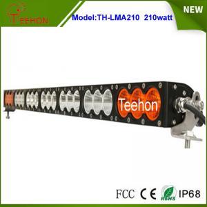 "Cheap 37.9"" 168000lm amber led light bar single row multi color led light bar for off-road for sale"
