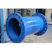 Double flanged ductile iron pipes with certificate of