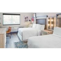 American Style Laminate Oak Wood Luxury Hotel Bedroom Furniture For Four Point Sheration Hotel