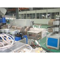 Cheap Twin Screw Wood Plastic Extrusion Line , Wood Plastic Profile Production Line for sale