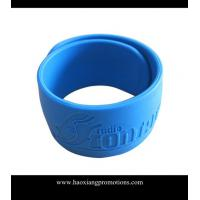 Cheap Cheap Slap Bracelet/Silicone Slap Wristband With Custom Logo for sale