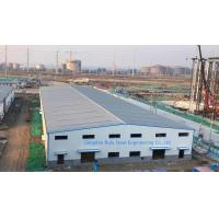 Cheap Painting Surface Metal Warehouse Buildings / Steel Structure Factory Building Steel Cladding Sheet for sale