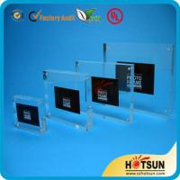 Cheap clear acrylic picture photo frame photo frame 4x6,5x7 wholesale custom acrylic photo frame for sale