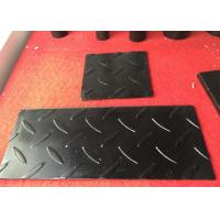 Cheap JIS SS400 SS490 Hot Rolled Steel Checkered Plate for Cutting / Drilling Hole Available for sale