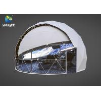 Cheap High Technology Immersive Full Dome Cinema 4D Cinema Dome Projection With 14 Cinema Chairs for sale