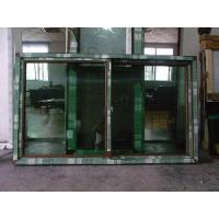 Cheap PVC Brown Sliding Frame Windows and Doors with Screen for sale