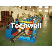 Cheap 2.0-3.0mm Heavy Duty Upright Racking / Shelf Roll Forming Machine With JH21-80 Ton Press Machine To Punch Holes for sale