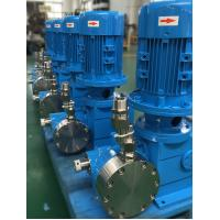 Cheap Double Hydraulic Diaphragm Pump , Chemical Processing Pumps Customized for sale