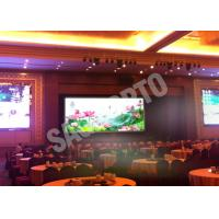 Cheap Hire High Resolution Indoor Advertising LED Display Video Wall 17222 Dots / ㎡ Programmable for sale