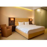 Cheap Single Room Modern Hotel Bedroom Furniture , Hotel Guest Room Furniture for sale
