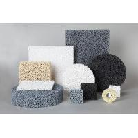 Cheap SIC Ceramic Reticulated Foam Filter Dark Grey Colour For Metal Foundry Industry for sale