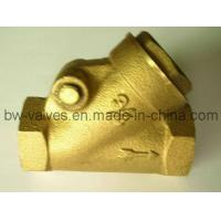 China Brass Y-Type Swing Check Valve (BW-C07) on sale