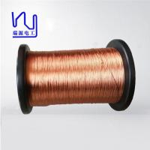 Cheap 3KV Hot Melt Mylar Film Copper Litz Wire 0.05×140 Dimensional Stability for sale