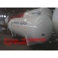 Cheap bullet type 12cubic meters cooking gas storage tank for sale, ASME 5MT surface lpg gas storage tank for sale wholesale