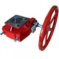 Cheap Red Pneumatic Valve Accessories Manual Declutchable Manual Override Gearbox for sale