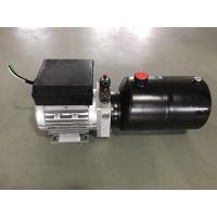 Cheap AC380V 0.75KW motor 2.1cc/r gear pump with 6L steel tank Hydraulic Power Unit for Dock Leveler wholesale