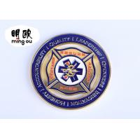 Buy cheap Silver Color Custom Challenge Coins / Cut Out Metal Souvenir Coins With Soft from wholesalers