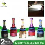 Cheap Custom Made Led Car Headlights Conversion Kit Bridgelux COB LED Chip H13 H8 H11 for sale