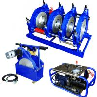Buy cheap Hydraulic Semi Automatic HDPE Pipe Butt Fusion Welding Machine Φ 160mm To Φ from wholesalers