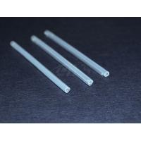 China Clear Single Fiber Optic Splice Sleeves Heat Shrinkable Sleeves For Cables on sale