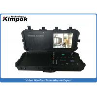 Cheap Digital COFDM Video Receiver With 17 Inch Monitor Ground Control Base Station for sale