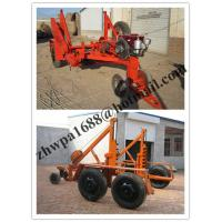 Cheap low price Cable Winch,Cable Drum Trailer, new type Cable Drum Carrier for sale