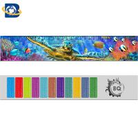 Quality Straight 3D Lenticular Ruler For Promotional Gift Stationery Custom Shape wholesale