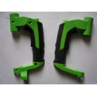 Buy cheap Cusomized multi shot injection molding twin color ABS+TPR overmoulding parts from wholesalers
