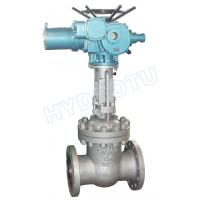 Cheap PN 0.25 - 6.4 Mpa Electric/ Manual Flanged Gate Valve / Sluice Valve for Hydro Power Station for sale