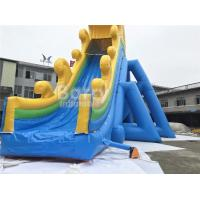 Cheap Custom Made PVC Tarpaulin Commercial Giant Inflatable Slide With 20 Years Experience‎ for sale