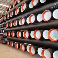 Cheap Ductile iron pipe, widely used for water supply, gas and oil for sale