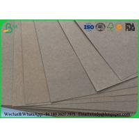 Cheap 80gsm 120gsm 150gsm Test Liner Paper , Brown Corrugated Paper For Carton Box for sale