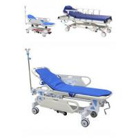 Cheap Adjustable Patient Transfer Trolley , Emergency Stretcher Trolley Or Hospital Use for sale