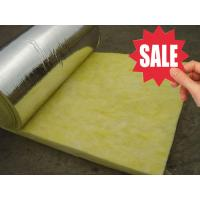 China cheap glass wool roll insulation materials on sale